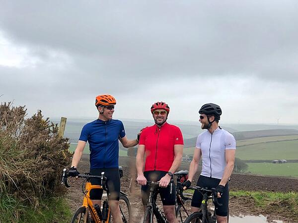 Dom, Graham, James in Assos gear